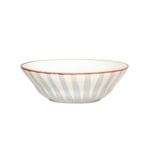 Тарелка Страйп, глубокая, без полей, синяя тарелка страйп без полей 25 см синяя
