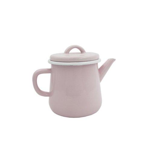 Эмалированный чайник, 1 л, розовый чайник эмалированный чудесница эч 4003