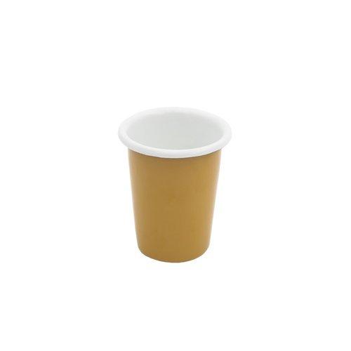 Эмалированный стакан, 250 мл, оранжевый цены онлайн