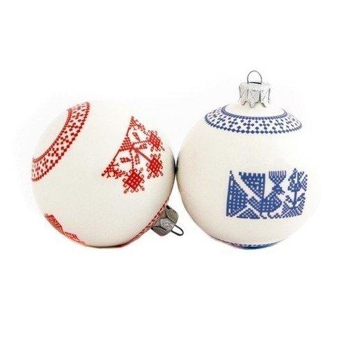 Елочное украшение Шар украшение елочное шар красный с блестками 13 см красный полимерный материал