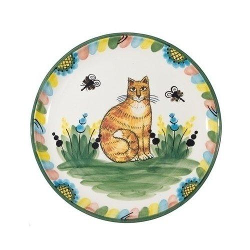 Тарелка Кот и К без полей 27 см