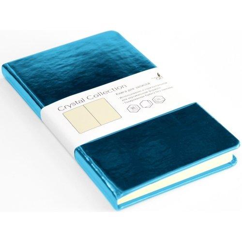 Записная книжка Crystal Collection, 96 листов, бирюзовый оазис записная книжка crystal collection 96 листов брызги шампанского