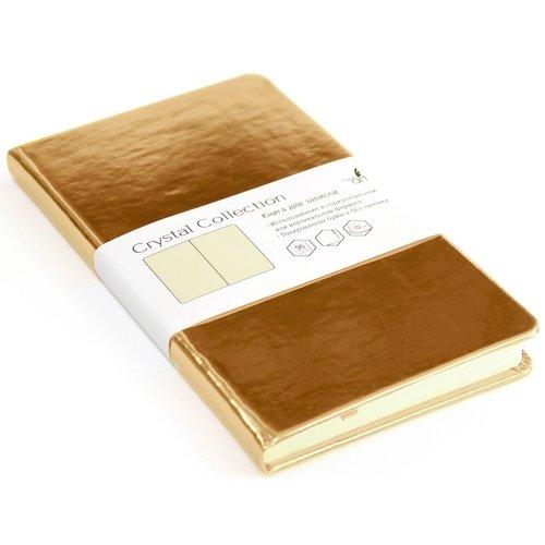 Записная книжка Crystal Collection, 96 листов, брызги шампанского listoff записная книжка crystal collection цвет желто зеленый 96 листов кзкк5962599