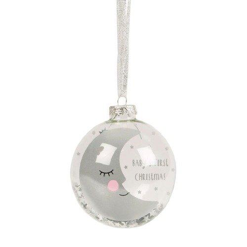 Новогодняя игрушка Sweet dreams moon bauble новогодняя игрушка sweet dreams speckled star