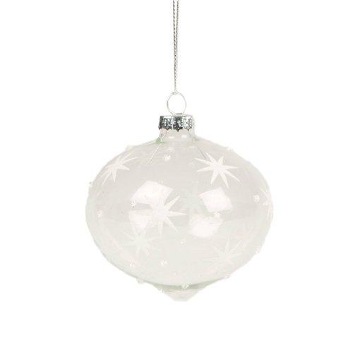 Новогодняя игрушка Snowfall Guiding Star Bauble новогодняя игрушка sweet dreams speckled star