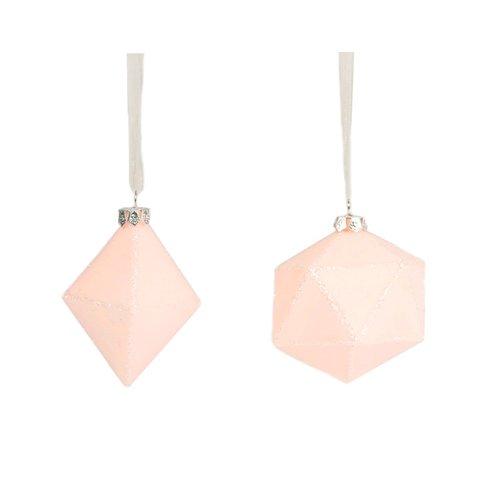 Фото - Новогодняя игрушка Pink Sparkly Geometric Bauble Assorted drawstring sparkly skinny pants