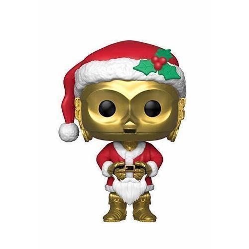Фигурка POP! Star Wars. Holiday C-3PO as Santa funko pop star wars bb 8 stromtrooper darth vader 10cm action figure toy juguetes brinquedos toys for children kids gift 2019