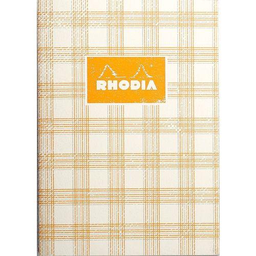Блокнот Heritage А5, 32 листа, в клетку, кремовый tartan блокнот brook books 32 листа в клетку цвет белый вв15