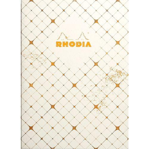 Блокнот Heritage А5, 32 листа, в клетку, кремовый quadrille блокнот brook books 32 листа в клетку цвет белый вв15