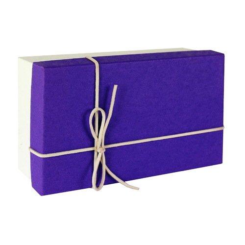 где купить Коробка большая 710301, фиолетовая дешево