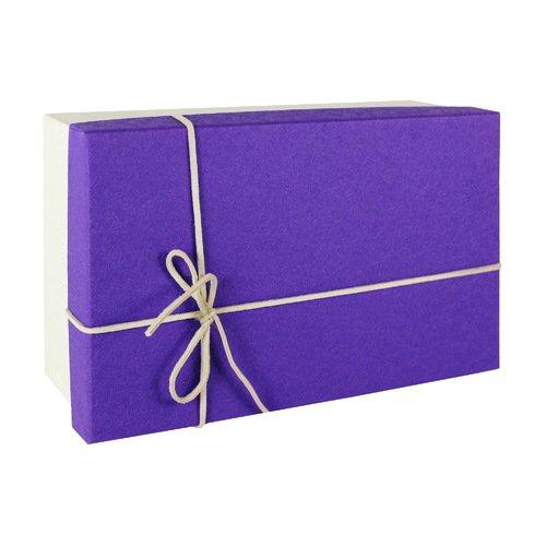 Коробка фиолетовая 710295, средняя
