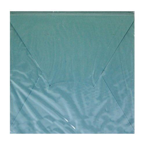 Конверт подарочный С1, голубой, 10 х 10 см цена и фото