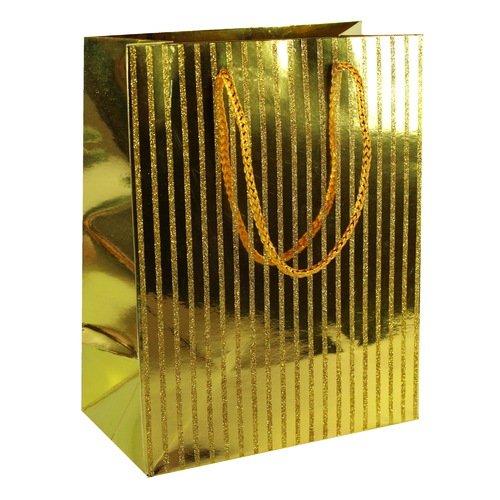 """Подарочный пакет """"Golden"""" А5, 18 х 23 х 10 см"""