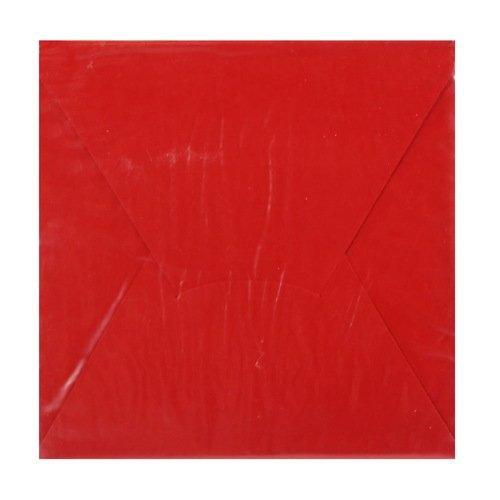 Конверт подарочный С1, красный, 10 х 10 см конверт подарочный дарите счастье хорошего дня цвет мультиколор 13 х 16 см 2729810