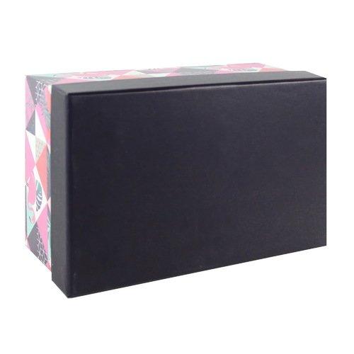 Подарочная коробка Tropical abstract, 19 х 12,5 х 8 см коробка подарочная veld co giftbox трансформер paris под бутылку цвет бежевый 34 4 х 8 2 х 8 2 см