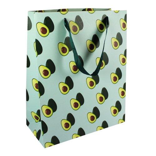Подарочный пакет Авокадо А4, 26 х 32 х 12 см пакет подарочный клетка 26 х 32 х 10 см в ассортименте