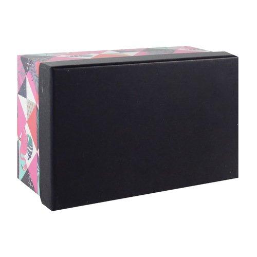 Подарочная коробка Tropical abstract, 17 х 11 х 7,5 см подушка belashoff люкс цвет персиковый 37 х 57 х 17 см