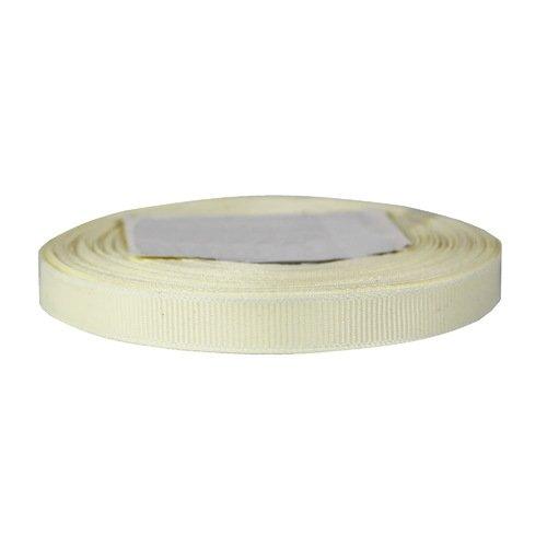 Лента репсовая, 10 мм, белая (цена за 1 м) система полива поливчик pl24 30 капельная лента 24 м шаг капельниц 30 см