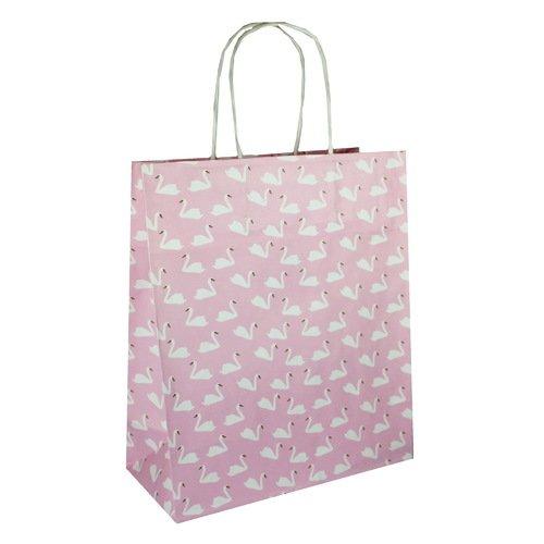 Пакет подарочный Лебеди А5