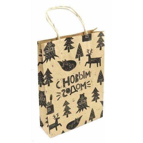 Пакет бумажный Лес 2 цена