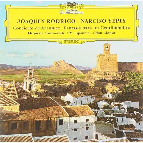 Фото - Narciso Yepes / Joaquin Rodrigo - Concierto De Aranjuez; Fantasia narciso yepes joaquin rodrigo concierto de aranjuez fantasia