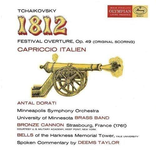 Antal Dorati / Tchaikovsky - 1812 Overture; Capriccio Italien цены онлайн