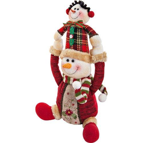 Купить Электромеханическая игрушка Снеговик CHL-243SM, 30 см, Mister Christmas, Интерактивные игрушки