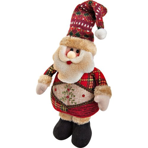 Мягкая игрушка Дед Мороз CHL-500SN, 28 см мягкая игрушка снеговик chl 500sm 28 см