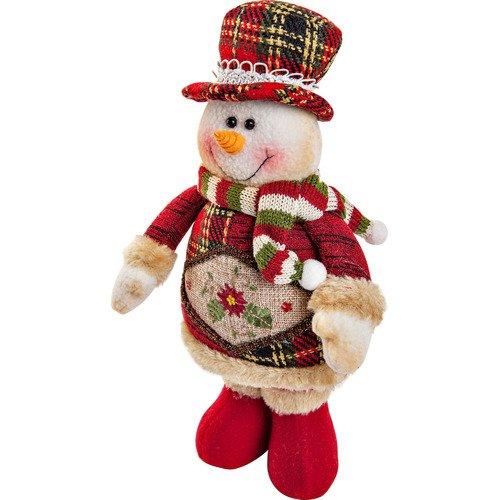 Мягкая игрушка Снеговик CHL-500SM, 28 см мягкая игрушка снеговик chl 500sm 28 см