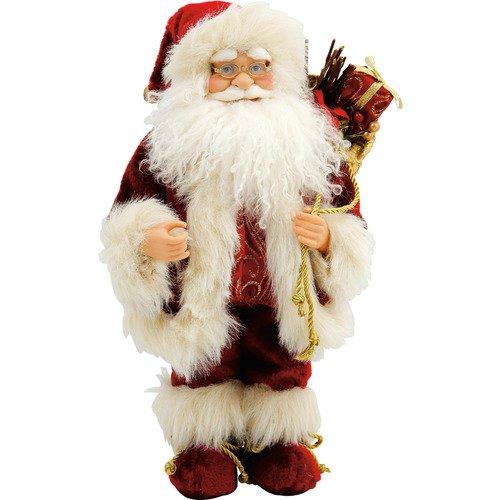 Игрушка новогодняя Дед Мороз DM-16-30, 40 см игрушка новогодняя mister christmas игрушка новогодняя