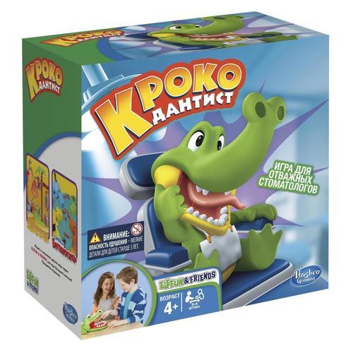Купить Игра Крокодильчик Дантист , Hasbro, Игры для детей