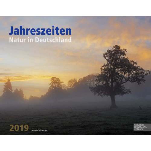 Календарь на 2019 год Jahreszeiten. Natur in Deutschland, 58 х 46 см календарь 58 года