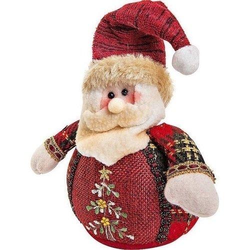 Мягкая игрушка Дед Мороз CHL-508SN, 12 см игрушка новогодняя mister christmas игрушка новогодняя