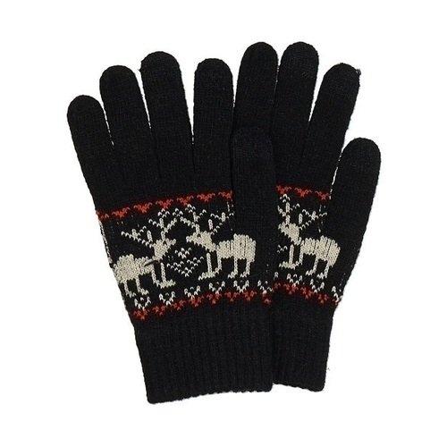 Перчатки для сенсорных экранов 0115, черные теплые перчатки для сенсорных дисплеев liberty project олени s violet r0000503