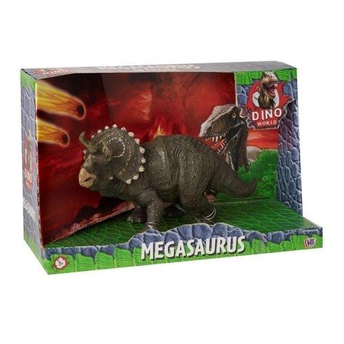 """HTI / Фигурка динозавра Dino World """"Трицератопс"""", 28 см"""