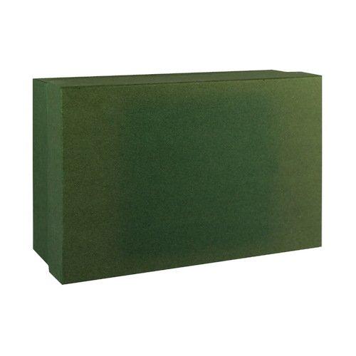 Подарочная коробка, зеленая, 19 х 12 х 6 см подарочная коробка лимоны 19 х 12 5 х 8 см