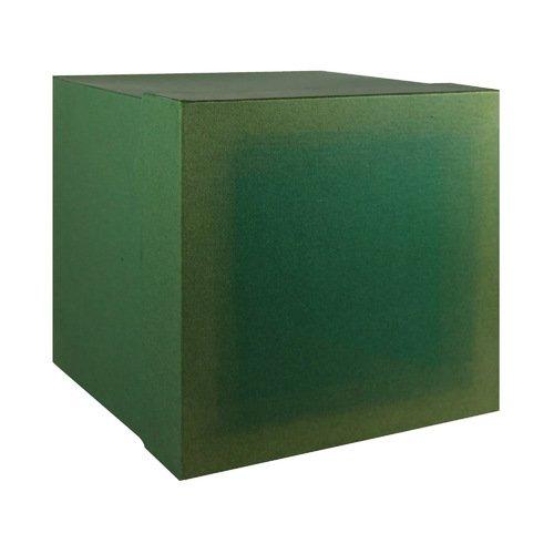 Коробка подарочная, 22,5 х 22,5 х 22,5, зеленая (Made in Respublica*) Торбеево купить оптом подарочную упаковку