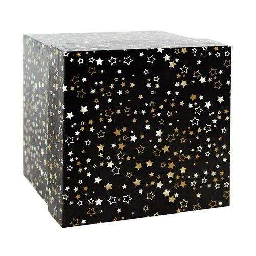 Подарочная коробка Звезды,12,5 х 12,5 х 12,5 см сотовый телефон ark benefit u4 black