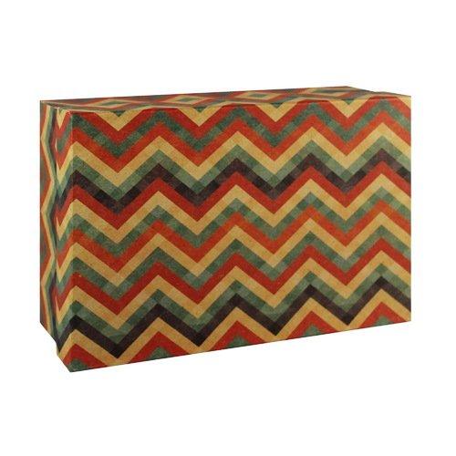 Подарочная коробка Зигзаги, 9 х 16 х 23 см подарочная коробка зигзаги 9 х 16 х 23 см