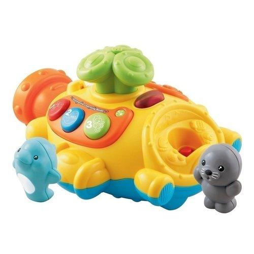 Игровой набор Подводная лодка, пускающая фонтан игрушка для ванны vtech подводная лодка пускающая фонтан