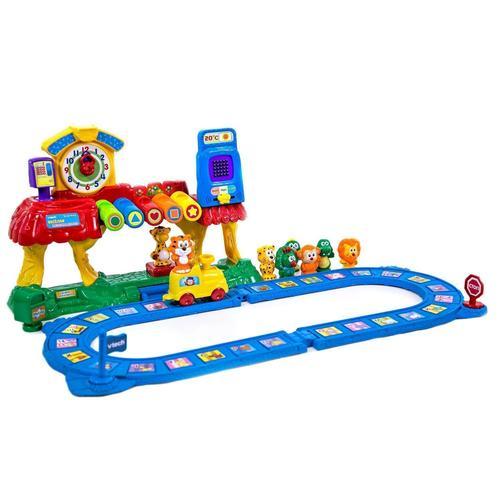 """Игровой набор """"Обучающая железная дорога"""" деревянный игровой набор железная дорога kidkraft """"горная стройка"""" в контейнере"""