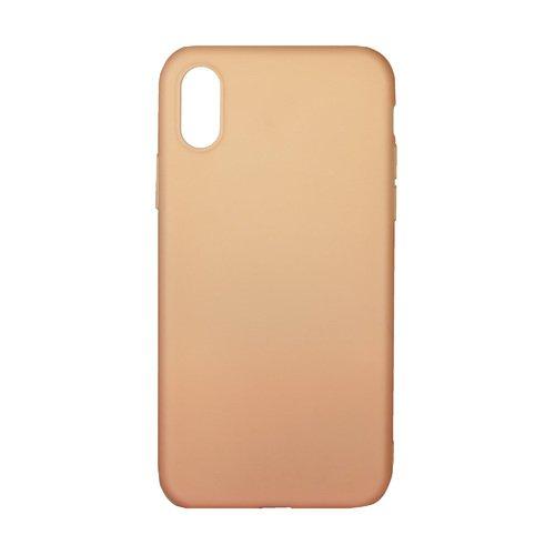 Чехол для iPhone X персиковый