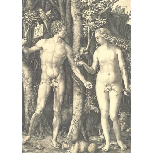 """Плакат А1 """"Адам и Ева"""""""