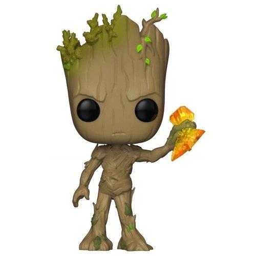Купить Фигурка POP! Marvel. Avengers Infinity War S2 Groot with Stormbreaker , Funko, Фигурки