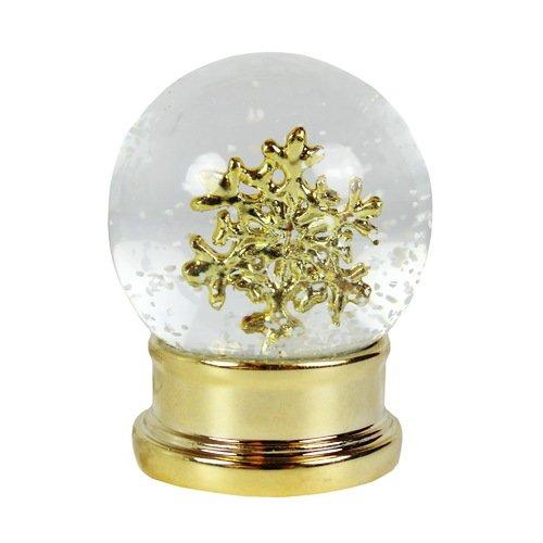 Снежный шар Золотая снежинка цена