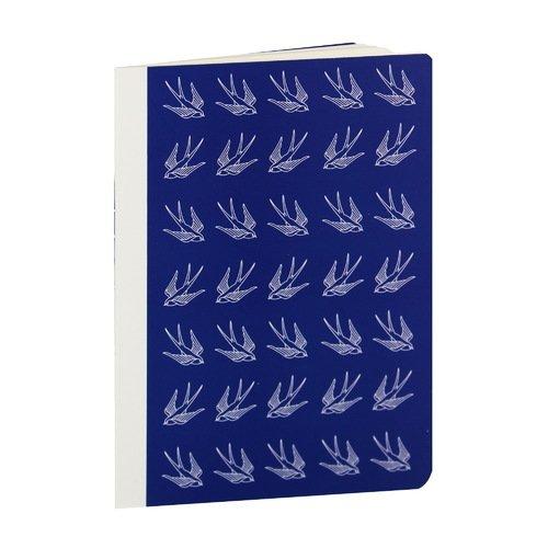 Блокнот Ласточки А6, 40 листов, в точку блокнот для заметок golden bird 2011 50pcs lot hh 30021