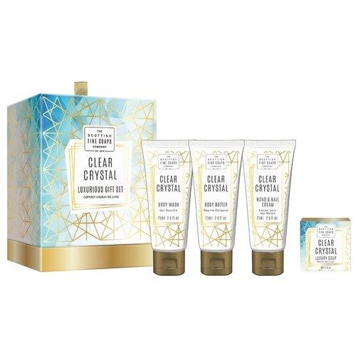 Подарочный набор Clear Crystal крем мыло для тела canaan крем мыло для тела
