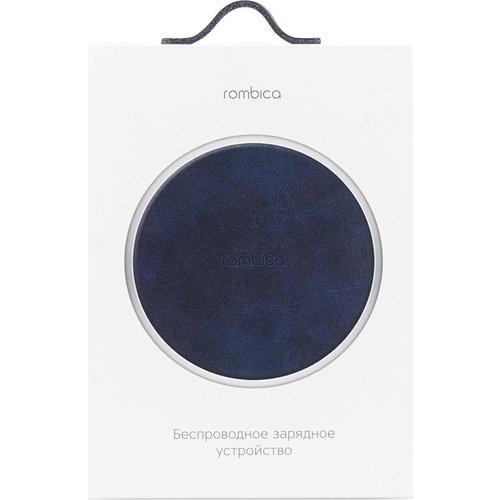 Фото - Беспроводное зарядное устройство Rombica NEO Q15 Quick Blue беспроводное зарядное устройство rombica neo q5 quick дерево
