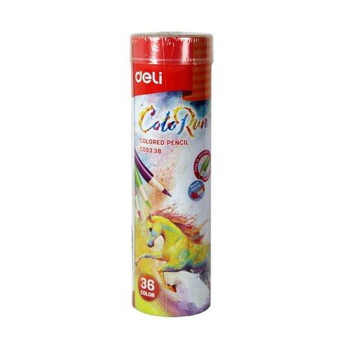 Карандаши цветные ColoRun, 36 цветов цветные карандаши colorun ec00360 6 цветов