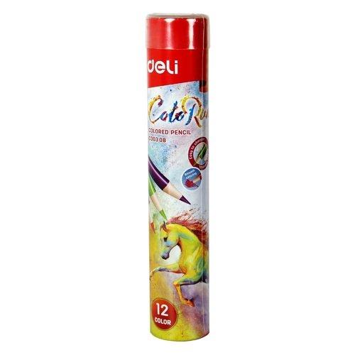 Карандаши цветные ColoRun, 12 цветов цветные карандаши colorun ec00360 6 цветов